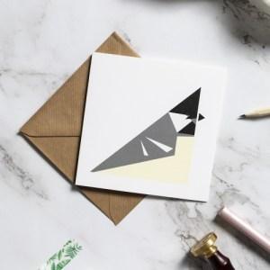 Coal tit card