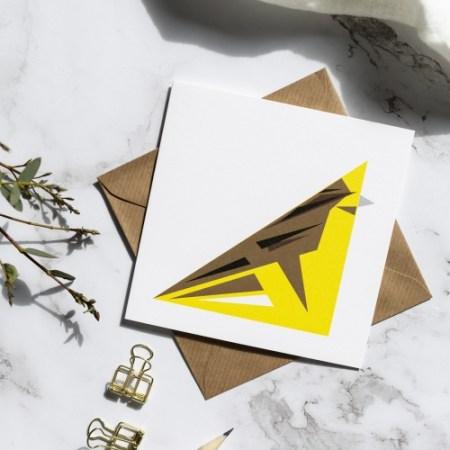 Yellow Hammer card