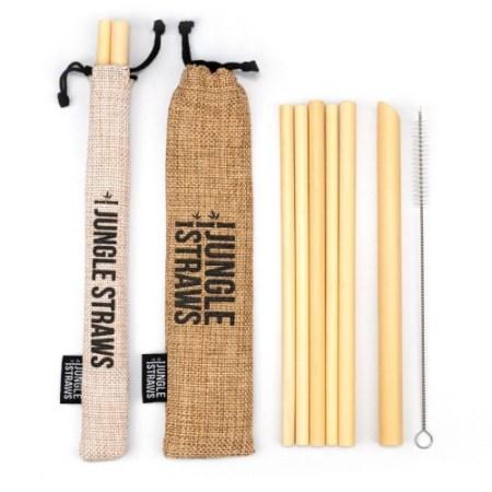 Natural bamboo straws