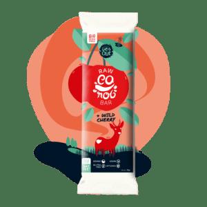 Raw Carob Bar & Wild Cherry - cereja2 500x500