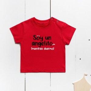 I Am A Little Angel Short Sleeve Cotton T-Shirt