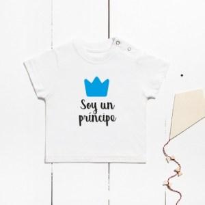 Camiseta Algodón Manga Corta – Soy Un Príncipe