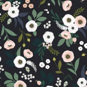 Flowers wallpaper dark background