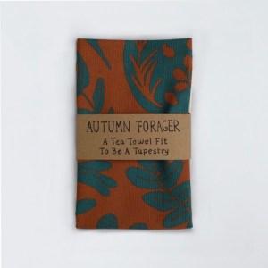Autumn Forager Tea Towel