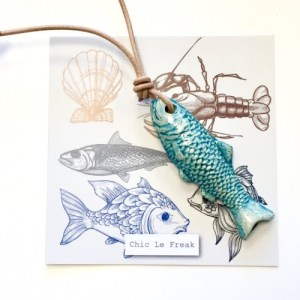 Necklace fish turquoise leather cord - f0ea28475046caa7777df787991db4b8a34fd130 500x500
