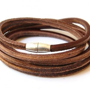 Brown leather cord with magnetic lock - 12267d9f5f7600dbf9c0c10a356552cb31175e47 500x500