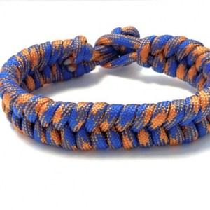 Mens bracelet paracord blue orange - f1b99169af904305ef47c94cf5937e459783a435 500x500