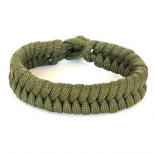 Mens bracelet braided paracord army green - 9d32f62f86398b8fcd2f7b396ccecc6e57c022b3 500x500