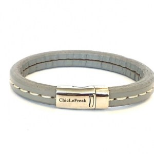 Bracelet leather stitching gray - 19651e5ff2da8dfd9240f7bf0f445f05f5f6ecc9 500x500