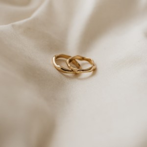 9ct Gold Organic Melty Ring