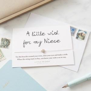 Niece Wish Bracelet (WISH013)