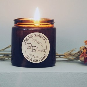 The authentic Poppy candle