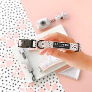 Pink Dalmatian Collar