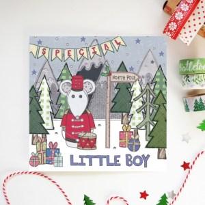 Special Little Boy Christmas Card