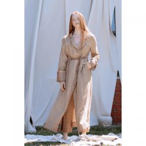 Solis Linen Trenchcoat