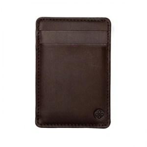 Vertical Card Holder | Madera Brown
