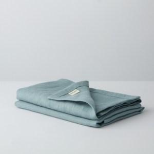 Linen Napkins Eucalyptus Blue – Set of 2
