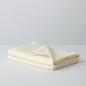 Linen Napkins Vanilla Cream – Set of 2