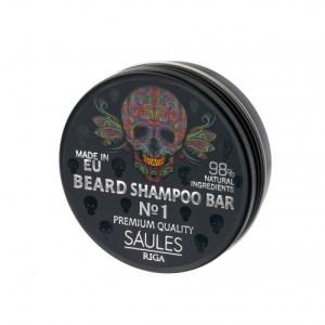 Beard Shampoo Bar №1 60g in Aluminum Jar