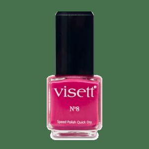 Visett Nagellack Quick Dry N°8 – 12ml