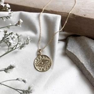 Lumen 'evil Eye' Necklace