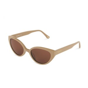 Margaret Nude Sunglasses – Brown Lenses