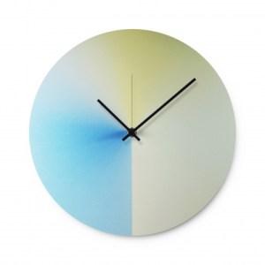 Time Fade Wall Clock – Light Blue