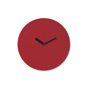 Draw up Wall Clock – Red