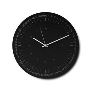 Hoop Wall Clock – Black