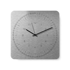 Edge Wall Clock – White