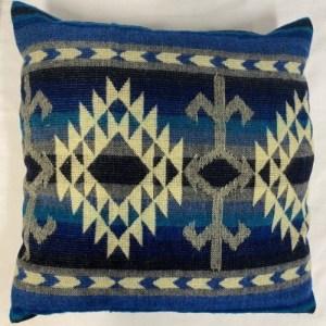 PILLOW NATIVE COTOPAXI – BLUE – 50 X 50 CM