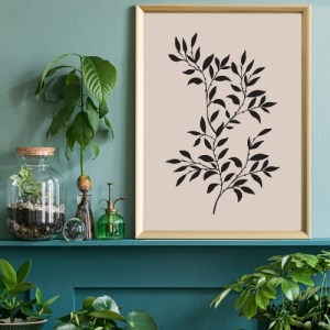 Branch Silhouette Print 1
