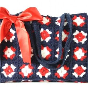 Crochet bag granny – Marina