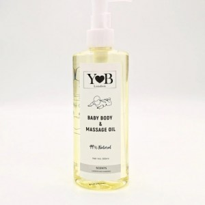 99% Natural Baby Body & Massage Oil