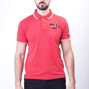Mens Classic Wakerlook Fit Tipped Polo