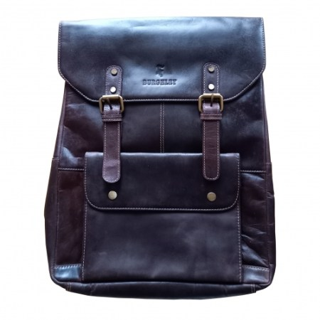 Carlton full leather backpack