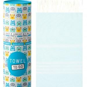 Towel to Go Ipanema Kids Hammam Towel with present box mint TTGIPKIDSMT
