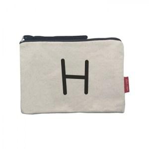 """Cosmetic Bag """"H"""""""