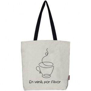 """Tote bag """"In vein, please"""""""