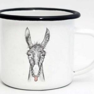 Ligarti Enamel Cup   Hand finished   Design Mug   Lore – 500ml