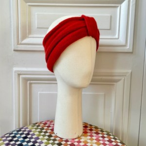 Headband foam mesh 100% cashmere