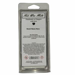 5 Cavity Clamshell (Wax Melt – Vanilla)