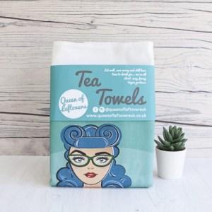 QUEEN OF LEFTOVERS TEA TOWEL SET