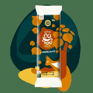 Raw Carob Bar & Hazelnuts - avela2 500x500
