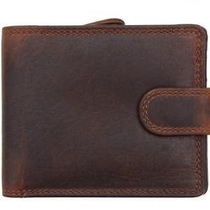 New York RFID Brown Wallet – 1958-01