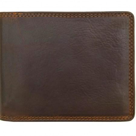 New York RFID Brown Wallet 1958-03