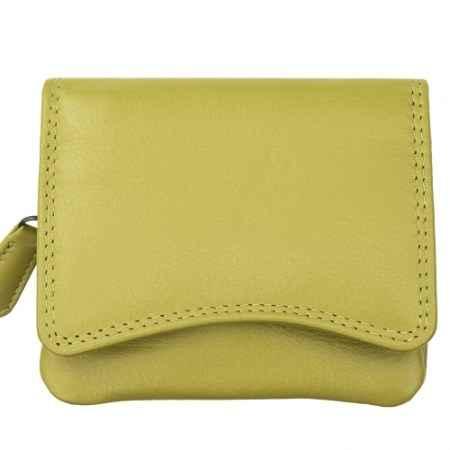 Verona Small Pouch Purse Lime Green - 2316