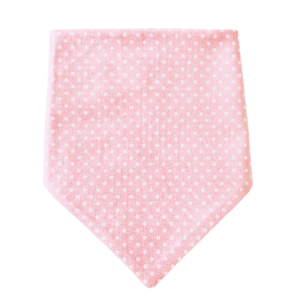 Dotty For You Collection – Ballerina Pink Dog Bandana