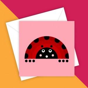 LITTLE LADYBUG BLANK GREETING CARD - 00DB6A26 1897 466A A443 CB1A25F4175B 500x500
