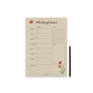 """A4 weekly planner """"Harmony"""" – 54 sheets"""